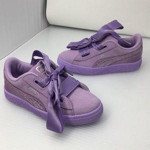 Puma Basket Heart Glitz Sneaker